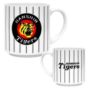 阪神タイガースのロゴ入りマグカップ(丸虎)!