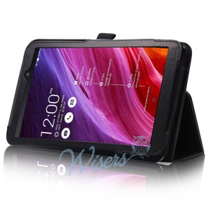wisers Asus Fonepad 7 FE170CG タブレット 専用 ケース カバー 全4色 ブラック・ダークブルー・ホワイト・ピンク... wisers1