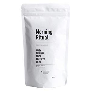 GRIT NATION Morning Ritual プロテインパウダー ホエイ+乳酸菌+モリンガ+...