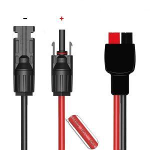 MC4 ソーラーコネクタる to Anderson power pole 変換アダプター 充電ケーブ...