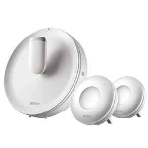 BUFFALO WiFi 無線LAN AirStation connect 親機+専用中継機2台セッ...