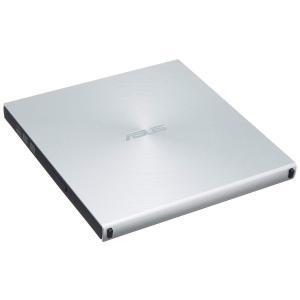 ASUS SDRW-08U5S-U 超薄型 スリムタイプ 光学 DVDドライブ ( SILVER /...