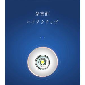 懐中電灯 LED 超高輝度 最強1600ルーメン CREE XML-L2 LED 超強力 小型 懐中...