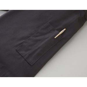KURODARUMA(クロダルマ) 49112-2 ジャバラ 袖マジックテープ 胸ポケット つなぎ ...