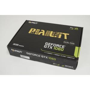 PALIT GeForce GTX 1060 Dual 3GB ビデオカード 新品 グラフィックスカ...