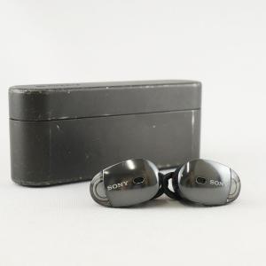 SONY ソニー ワイヤレスノイズキャンセリングイヤホン WF-1000X USED美品 ブラック ...