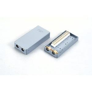 クリップターミナル式 電子・デジタルボタン電話用端子板 Nシリーズ 2C-205TN 10個set / 三和電気工業製 with-net