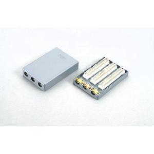 クリップターミナル式 電子・デジタルボタン電話用端子板 Nシリーズ2C-603DN 10個set / 三和電気工業製 with-net