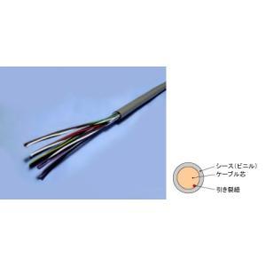 屋内用ボタン電話ケーブル ボタンオクナイ 0.4×10P 100m / 冨士電線 with-net
