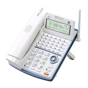 カールコードレス多機能30ボタン電話機|with-net