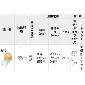コネクタ−UY2(通信・信号用) UY2 100個入 with-net