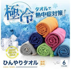 トレーニングタオル ひんやりタオル 冷却タオル 熱中症対策グ...