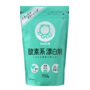 酸素系漂白剤 750g シャボン玉石けん