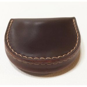 馬蹄型コイン・ケース(コードバン)|wizard-leather