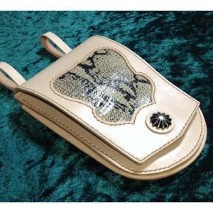 メディスン・バッグ 本革製 wizard-leather