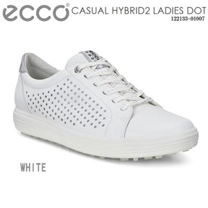 【CASUAL HYBRID2 Ladies Dot ホワイト】 「コースでも街中でもおしゃれに楽し...