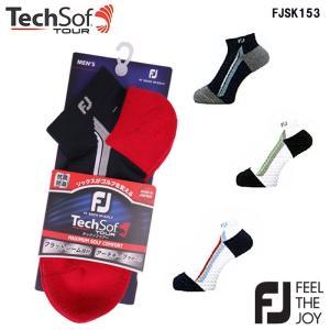 フットジョイ Foot Joy FJSK153 Tech Sof TOUR テックソフ ツアーMens ショート ソックス|wizard