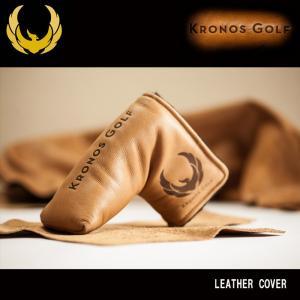 クロノスゴルフ KRONOS オリジナル パターカバー LEATHER Head Cover wizard