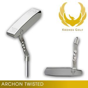 クロノスゴルフ KRONOS TWIST Neck Model ARCHON Twisted アーコン パター ツイストネック 34インチ|wizard