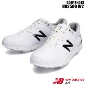 ニューバランス ゴルフ new balance UG2500 W2 ゴルフシューズ ホワイト(UNISEX) 2E|wizard