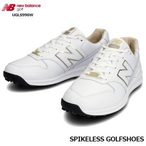 ニューバランス ゴルフ 2020年 new balance UGLS996W ゴルフシューズ ホワイト スパイクレス|wizard