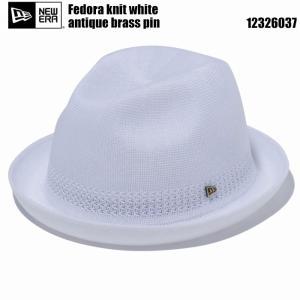 ニューエラ 2020 NEW ERA 12326037 Knit Fedora ホワイト ニットハット|wizard