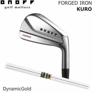 (メーカーカスタム)オノフ ONOFF FORGED IRON KURO ダイナミックゴールド S200 6I〜PW(5本セット) アイアン|wizard