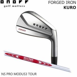 (メーカーカスタム)オノフ ONOFF FORGED IRON KURO NS PRO MODUS TOUR 6I〜PW(5本セット) アイアン|wizard