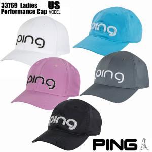 ピンゴルフ PING GOLF 33769 ping ロゴ レディース キャップ PERFORMANCE CAP|wizard