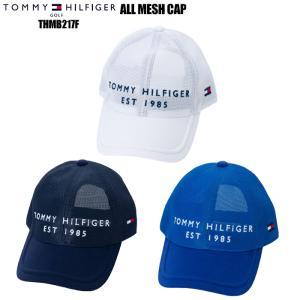 トミーヒルフィガー TOMMY HILFIGER THMB217F ALL MESH CAP オールメッシュ キャップ|wizard