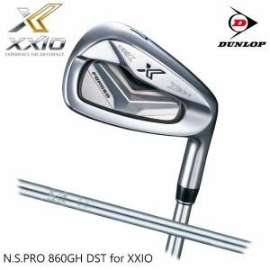 (左右選択可)(メーカーカスタム)XXIO X-eks- IRON ゼクシオ エックス アイアン 単品 N.S.PRO 860GH DST for X|wizard