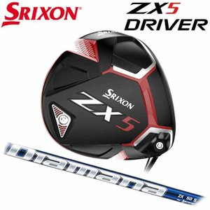 (左右選択可)(メーカーカスタム)SRIXON ZX5 DRIVER スリクソン ドライバー DIAMANA ZX 日本正規品|wizard