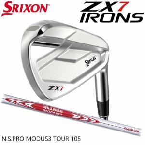 (左右選択可)(メーカーカスタム)SRIXON ZX7 IRON スリクソン アイアン 単品 MODUS3 TOUR105 日本正規品|wizard