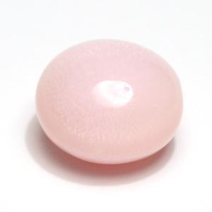 コンクパールルース5.982ct 約10.4mmx9.7mmx7.6mm 鑑別書付属中央宝研うすピンク色 全体に火炎模様みられ素晴らしい希少な天然真珠|wizem
