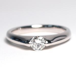 ダイヤモンドリングPT900プラチナ製0.28ctサイズ11|wizem