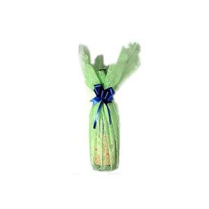 1本用リボン&ラッピングシート・グリーン|wizumiya