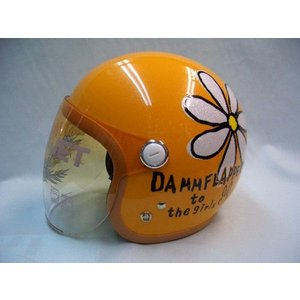 ダムトラ ナンカイ ヘルメット フラワージェット|wjs