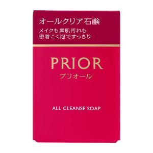 資生堂 プリオール オールクリア石鹸 100g(メーク落とし・洗顔石鹸)|wlb