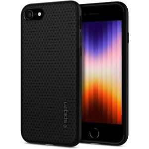 スマホケース Spigen シュピゲン iPhone 8 / 7 リキッドエアー ブラック 042C...