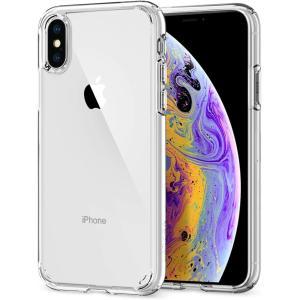 スマホケース Spigen シュピゲン iPhone XS / X ウルトラハイブリッド クリスタル...