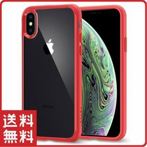スマホケース Spigen シュピゲン iPhone XS / X 5.8インチ 背面クリア ウルト...