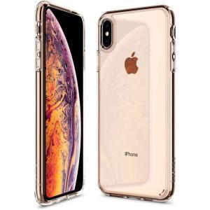 スマホケース Spigen シュピゲン iPhone XS Max ウルトラ・ハイブリッド クリスタ...
