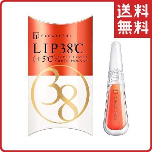 フローフシ LIP38℃ 01 リップトリートメント +5℃ HOT コーラルオレンジ FLOWFU...