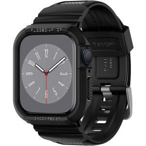 アップルウォッチ バンド Spigen Apple Watch Series 5 / 4 ラギッド ...