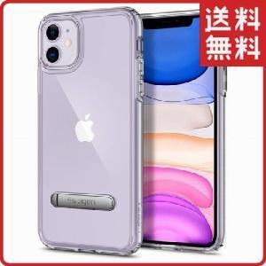 スマホケース Spigen iPhone 11 6.1インチ スタンド付 ウルトラ ハイブリッド S...