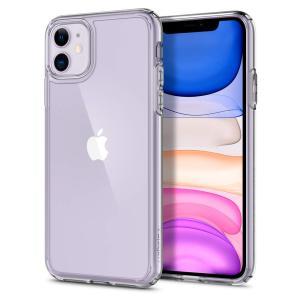 スマホケース Spigen iPhone 11 6.1インチ  ウルトラ ハイブリッド 076CS2...