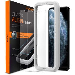 スマホ ガラス フィルム Spigen iPhone 11 Pro iPhone XS iPhone...