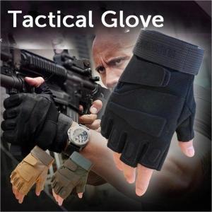 【5のつく日セール】サバゲー装備 SWAT タクティカルグローブ ハーフフィンガー 手袋 サバイバルゲーム バイク アウトドア 送料無料|wls