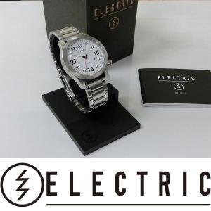 ELECTRIC 腕時計 : FW01 SS - WHITE  国内正規品 コマ詰め無料|wmsnowboards