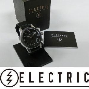 ELECTRIC 腕時計 : FW02 NATO - BLACK 国内正規品|wmsnowboards